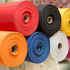 44223290-colorful-material-fabric-rolls-texture-samples